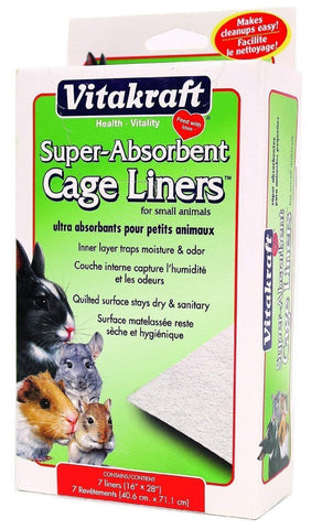 Vitakraft Small Animal Absorbant Cage Liners, Vitakraft