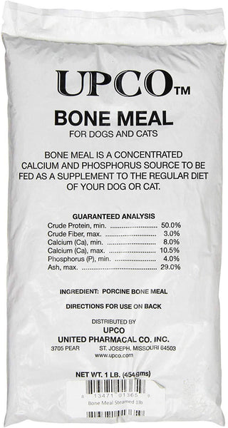 UPCO Bone Meal Powder 1 lb, UPCO