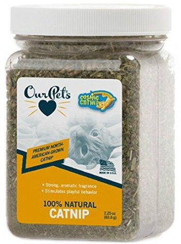 OurPet's Cosmic Catnip Jar 2.25oz, OurPet's