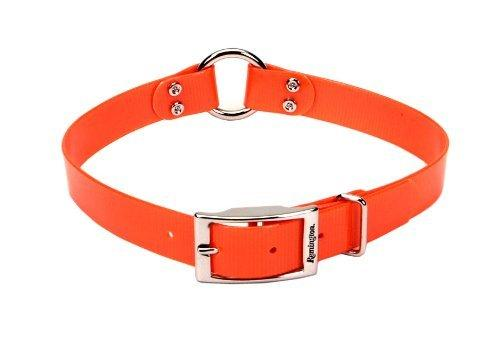 Remington® Waterproof Hound Dog Collar with Center Ring Orange 1in X 18in, Remington
