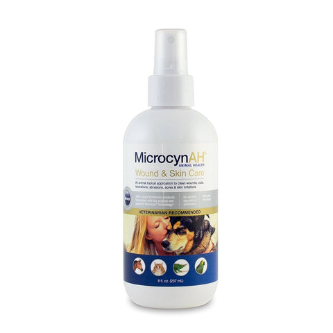 MicrocynAH Wound & Skin Care 8oz, MicrocynAH