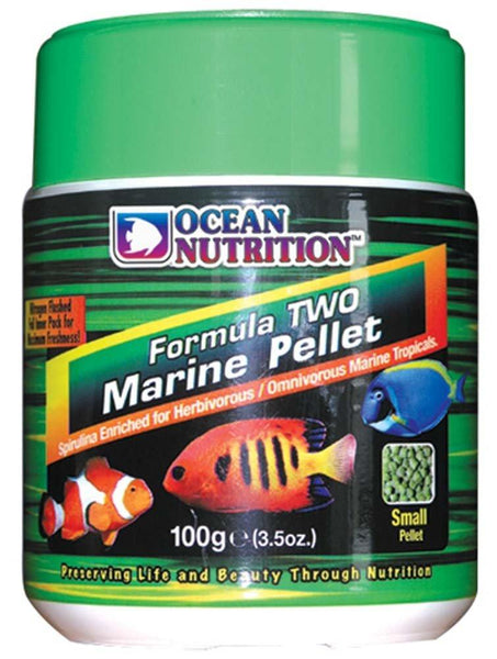 Ocean Nutrition Formula Two Marine Pellets Small 100g, Ocean Nutrition