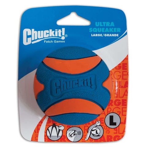 Chuckit! Ultra Squeaker Ball Dog Toy Large, Chuckit