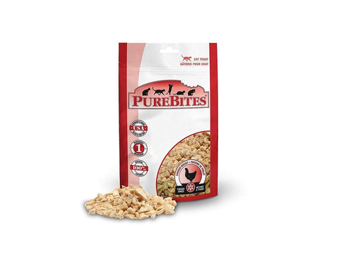 PureBites Chicken Breast Freeze-Dried Treats Cats 1.09oz / 31g | Value Size, PureBites