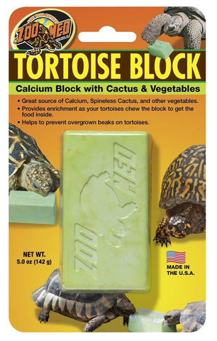 Zoo Med Banquet Tortoise Block Large, Zoo Med
