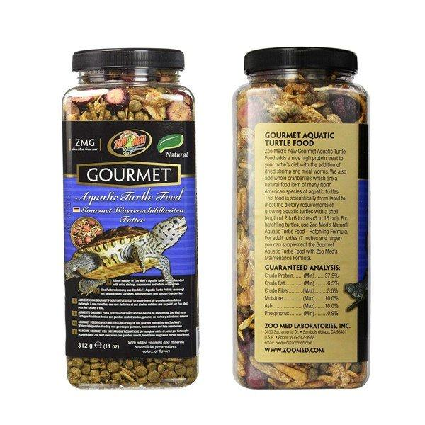 Zoo Med Gourmet Aquatic Turtle Food 11oz, Zoo Med