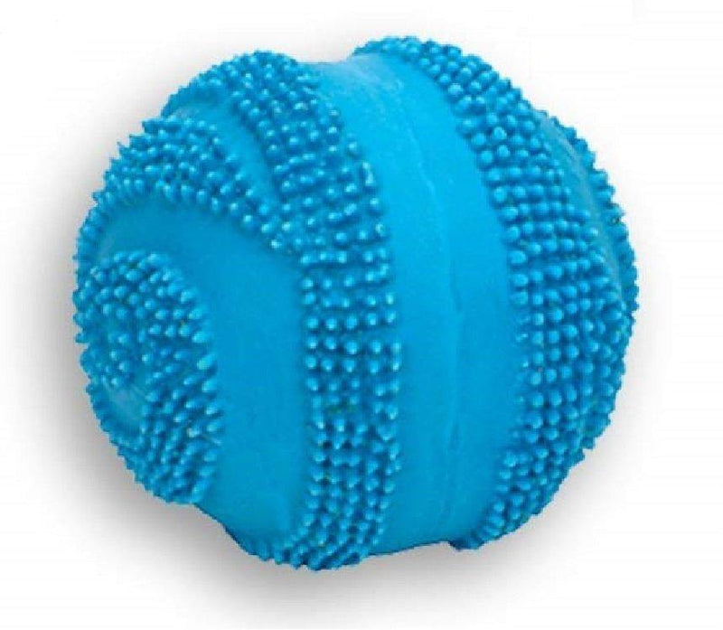 Coastal Rascals Latex Spiny Ball Dog Toy Blue Lagoon 2.5, Coastal Pet