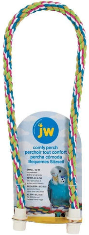 JW Comfy Perch Multi-Color Small 21in, JW Pet