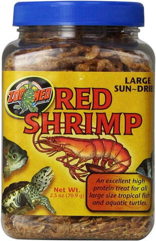 Zoo Med Large Red Shrimp 2.5 oz