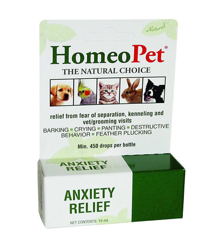 HomeoPet Anxiety Relief 15ml, HomeoPet