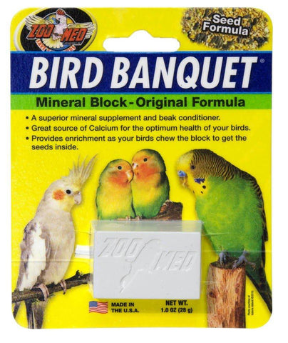 Zoo Med Bird Banquet Block 1-Ounce