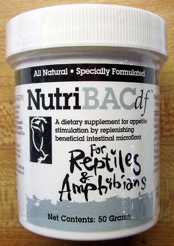 Nutribac Dietary Supplement for Reptiles & Amphibians 50gm, Nutribac