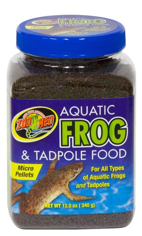 Zoo Med Tadpole Food 12 oz, Zoo Med