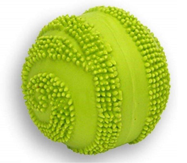 Coastal Rascals Latex Spiny Ball Dog Toy Lime 2.5in, Coastal Pet