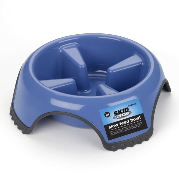 JW Pet SkidStop Slow Feed Bowl Large, JW Pet