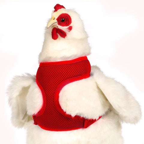 Valhoma Chicken Harness - Red Small, Valhoma