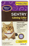 SENTRY Calming Collar Cats upto 15in 3Pk, Sentry