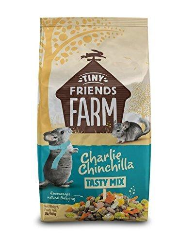 Tiny Friends Farm Charlie Chinchilla Tasty Mix Food 2lb, Supreme Pet
