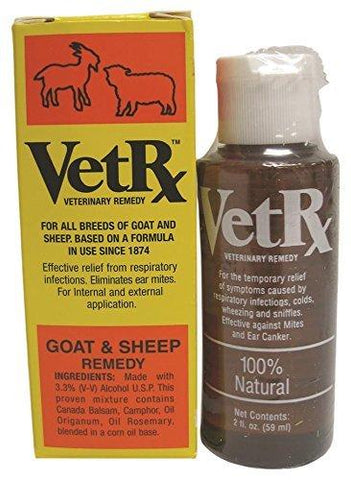 VetRx Goat & Sheep 2oz, Goodwinol