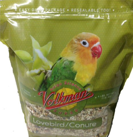 Volkman Seed Avian Science Super Lovebird/ Conure 4lb, Volkman