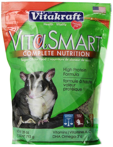 Vitakraft Vita Smart Sugar Glider Food 1.75lbs, Vitakraft