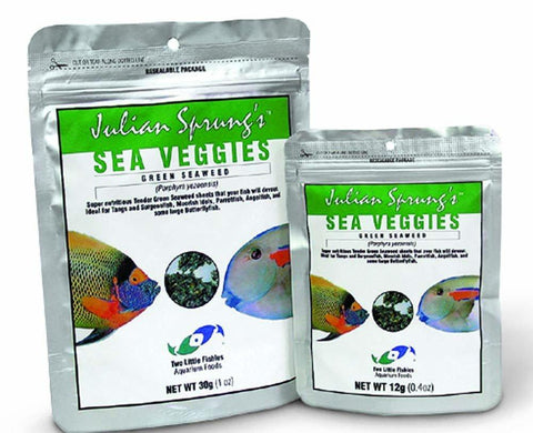 Two Little Fishies SeaVeggies Green Seaweed 1oz, Two Little Fishies