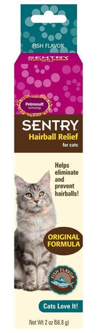 SENTRY Hairball Relief Fish Flavor 2oz, Sentry