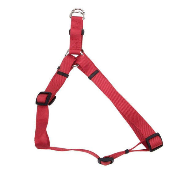 Comfort Wrap Adjustable Nylon Dog Harness Red Large, 1 In X 26-38 in