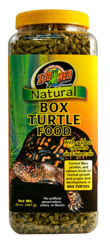 Zoo Med Natural Box Turtle Pellet Food 20 oz