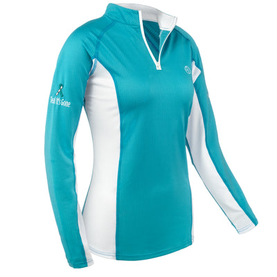 MeshAir Schooling Shirt - Teal It's Gone