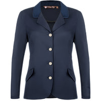 show jacket hunter jumper riding show coat equitation equestrian horse navy technical fabric