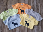 baby onesie toddler infant gift equestrian