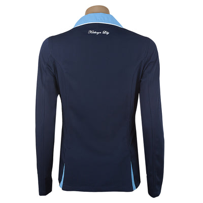 ShowTech Jacket- Navy with Sky Blue