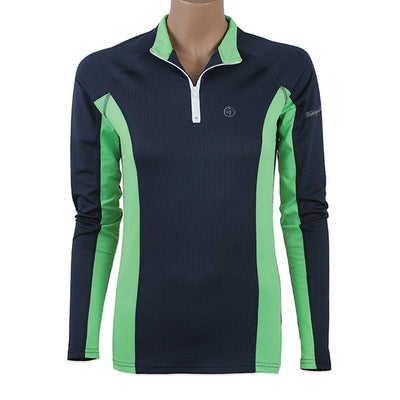 MeshAir Schooling Shirt - Navy/Mint