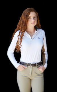 Sunshirt- White with Tan