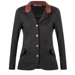 Harrisburg Jacket - Black with Cinnamon