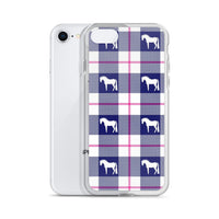 Plaid Horse iPhone Case
