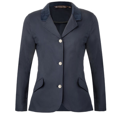 show coats hunter jumper navy equitation equestrian riding coat show jacket technical fabric zipper