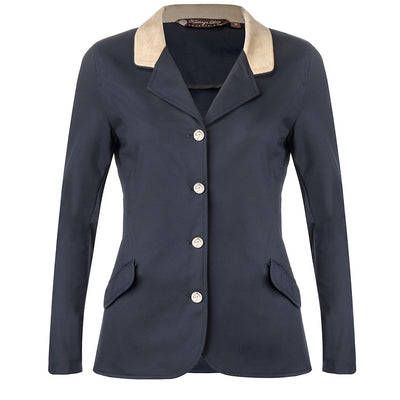 Harrisburg Jacket - Navy with Tan