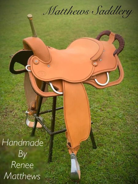 AMY'S Trick Riding Saddle