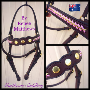 Stock Horse Show Bridle