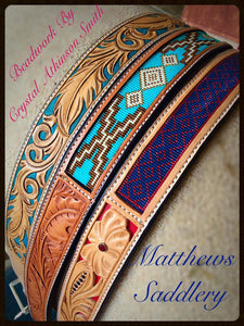 Carved & Beaded Belts