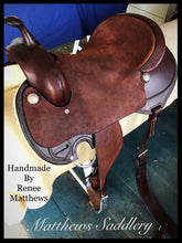 LOUISE'S Cutting Saddle