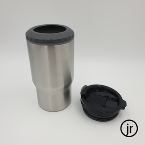 14oz / 400ml Curved Can Cooler - Dual Lid