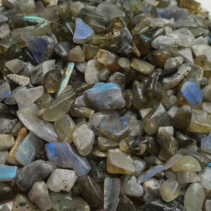 Labradorite Crystal Chips 250gm
