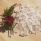 Clear Quartz Crystal Points 50gm - High Clarity