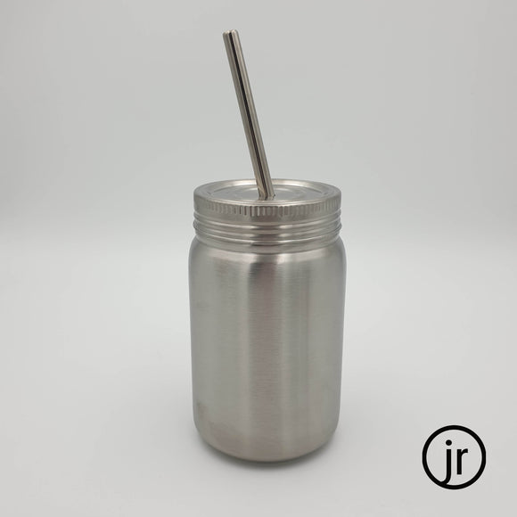 14oz / 400ml Mason Jar Tumbler