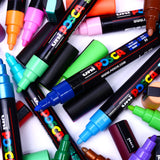 Posca 5M Medium Bullet Tip - 2.5mm