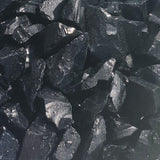 Onyx Black Glass Fragments 250gm