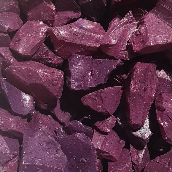 Deep Ruby Glass Fragments 250gm